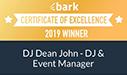 Bark Award DJ Dean John